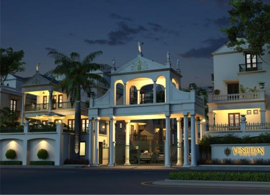 Venetian Villas in Ahmedabad 5 BHK Villas at Thaltej Ahmedabad