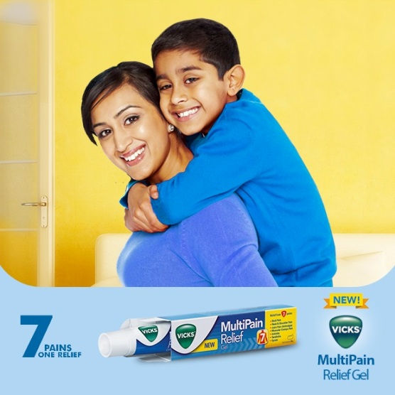 Vicks MultiPain Relief Gel - 7 Pains ONE Relief