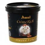 Amul Launch New Creme Rich – Almond Fudge Ice Cream