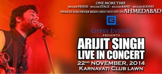 Arijit Singh Live in Concert in Ahmedabad