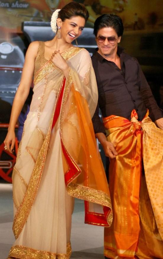 Deepika Padukone Promote Chennai Express Movie  in Chennai