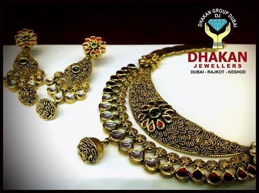 Dhakan Jewellers Showroom Rajkot Gujarat