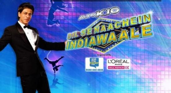 Dil Se Naachein Indiawaale - Sharukh Khan's Dance Reality Show 2014 on Zee TV.jpg