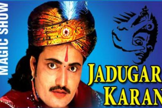 Jadugar Karan Magic Show at Shastri Maidan Rajkot from 17th October 2014.jpg