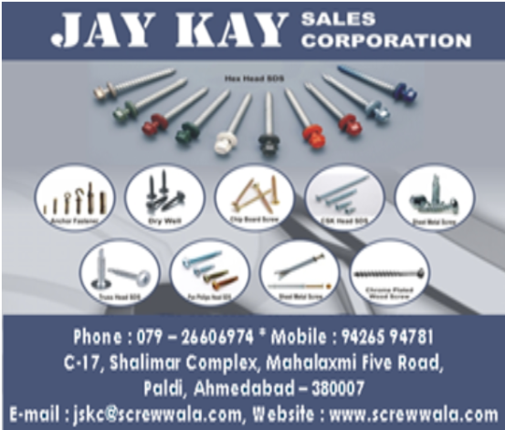 Jay Kay Sales Corporation Industrial Parts Manufacturing in Ahmedabad Gujarat