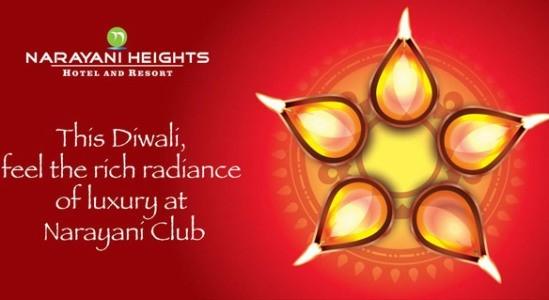 Narayani Heights Hotel & Resort in Gandhinagar