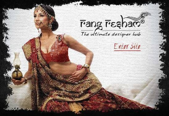 Rang Resham Boutique Rajkot - Collection of Sarees Lehenga Cholis Dresses at Amin Marg Rajkot