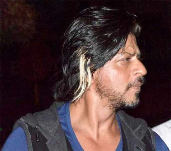 Shahrukh Khan New Latest Hairstyle in Happy New Year Film 2014 In ...