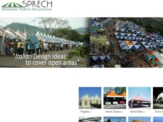 Sprech Modular Fabric Structures Company in Vadodara Gujarat