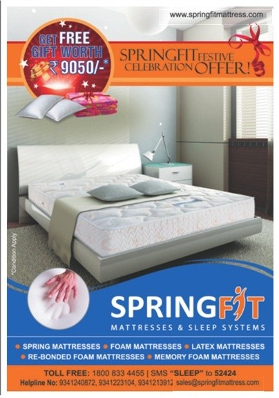 Spring Fit Mattress & Sleep Systems Festival Offer