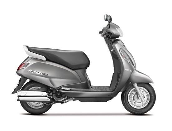 Suzuki Motorcycles Launched Suzuki Access 125 New Model 2014 in India.jpg