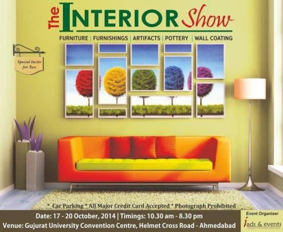 The Interior Show Ahmedabad 2014 on October at Gujarat University Convention Centre