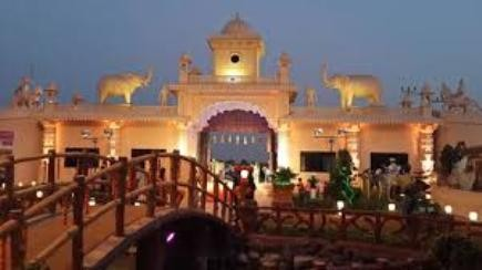 Uma Resort in Morbi - Garden Restaurant Party Plot at Morbi.jpg