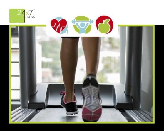 24x7 Fitness Center in Rajkot Gujarat
