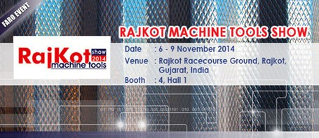 5th Rajkot Machine Tools Show 2014