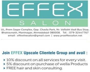EFFEX - The Salon in Ahmedabad