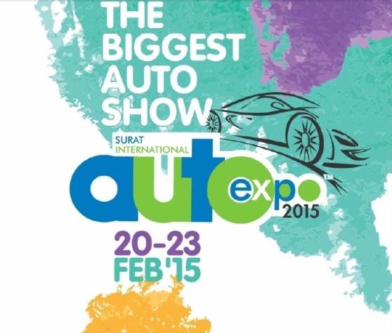 International Auto Expo Surat 2015 Gujarat - Address Timings Auto Exhibition in Surat 2015