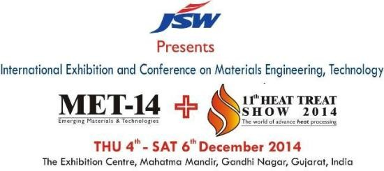 MET 14 & 11th Heat Treat Show 2014 in Gandhinagar