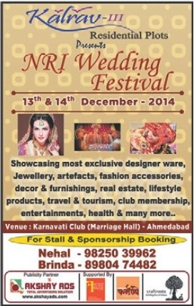 NRI Wedding Festival in Ahmedabad