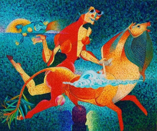 Painting Exhibition in Ahmedabad 2014 on November 2014