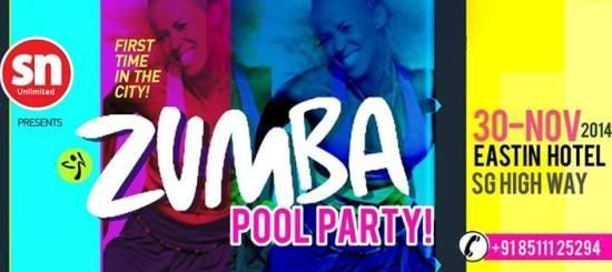 Zumba Pool Party in Ahmedabad