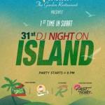 31st DJ Night on Island Party 2015 in Surat by Vatika the Garden Restaurant