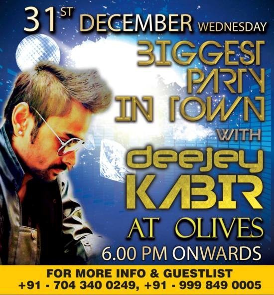31st December New Year Party 2014