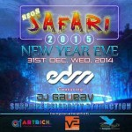 Heart Beatz – 31st Neon Safari 2015 New Year Eve in Ahmedabad