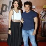 Aamir Khan and Anushka Sharma in Ahmedabad for promotion of Peekay (PK) Hindi Movie 2014