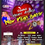 Couple Heart Attach New Year Party 2015 in Rajkot at TGT Thakar Hotel