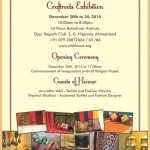 Craftroots Exhibition 2014 Ahmedabad Gujarat on 20 to 24 December 2014