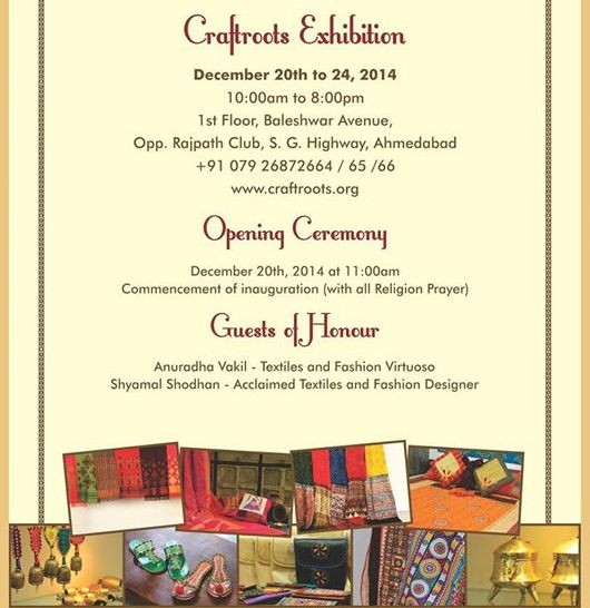 Craftroots Exhibition 2014 Ahmedabad