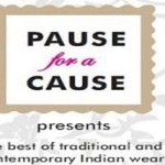 Pause for a Cause – Designer Wear Exhibition in Ahmedabad on December 2014