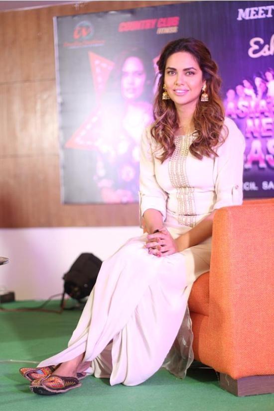 Esha Gupta in White Dress
