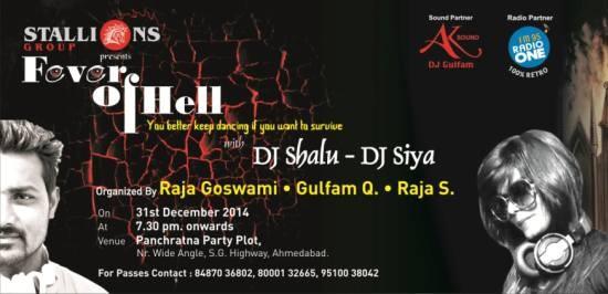 Fever of Hell with DJ Shalu and DJ Siya
