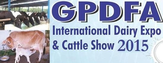 GPDFA International Dairy Expo & Cattle Show 2015 in Anand