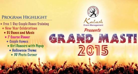 Grand Masti 2015 in Ahmedabad