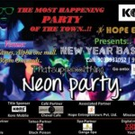 Hope Event Presents Neonic New Year Bash 2015 at Alpha One Mall Ahmedabad