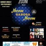 Jhoom BARODA Jhoom New Year Bash Party 2015 by Zoom Events at Prasang Party Plot Vadodara