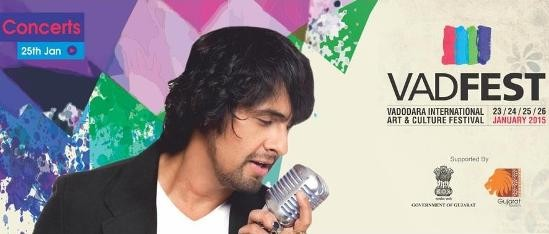 Live in Concert of Sonu Nigam in Vadodara
