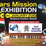Mars Mission Exhibition in Surat on 4th to 20th January 2015