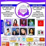Miss & Mrs Ahmedabad Gujarati Competition December 2014