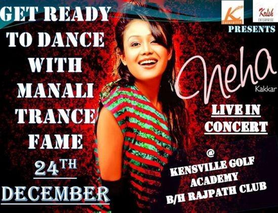 Neha Kakkar Live in Concert in Ahmedabad