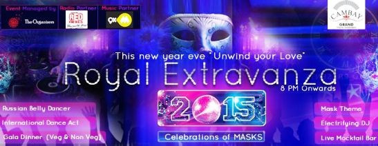 New Year Eve 31st Party Celebration Unwind Your Love in Ahmedabad