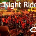 New Year Eve Night Ride 2015 at Iskcon Ahmedabad by Cyclone Cycling Club