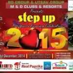 New Year Party Celebration Step Up 2015 at Ghanteshwar Park Rajkot Gujarat