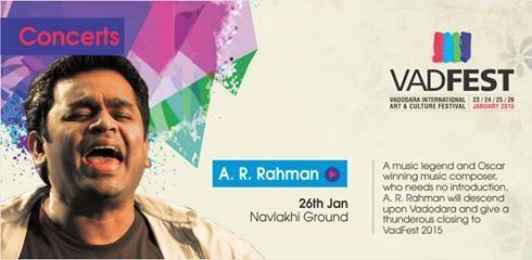 Oscar Winner A R Rahman Live Concert in Vadodara