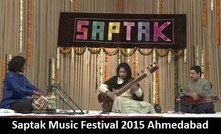 Saptak Music Festival 2015 in Ahmedabad