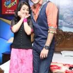 Sonia Balani in Ahmedabad for Tu Mera Hero Serial Promotion with Priyanshu Jora