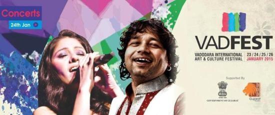 Sunidhi Chauhan & Kailash Kher in Vadodara